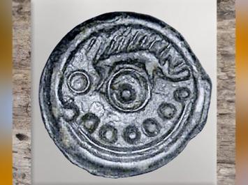 D'après un sanglier et roue, statère gaulois, bronze, Ier siècle avjc- Ier siècle apjc, La Tène, âge du Fer, Gaule celtique. (Marsailly/Blogostelle)