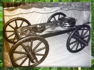 D'après le chariot funéraire du prince celte de Hochdorf, VIe siècle avjc, civilisation de Hallstatt, premier âge du Fer. (Marsailly/Blogostelle)