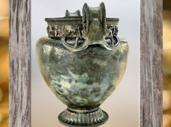 D'après le grand cratère en bronze, tombe celte de Vix, Bourgogne, Ve siècle avjc, fin Hallstatt-La Tène, âge du Fer. (Marsailly/Blogostelle)