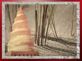 D'après la grande mosquée de Samarra construite en spirale, art Abbasside, IXe siècle apjc, Irak. (Marsailly/Blogostelle)