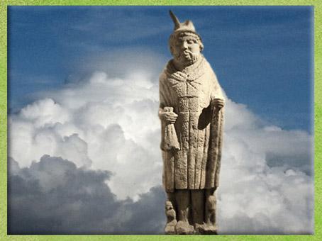 D'après le Mercure de Lezoux, dieu gaulois, Auvergne, Ier-IVe siècle, Gaule Romaine, France. (Marsailly/Blogostelle)