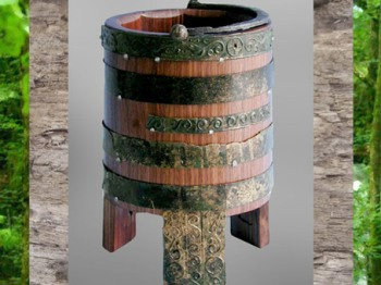 D'après un sceau gaulois, artisanat du fer et du bois, Gaule celtique. (Marsailly/Blogostelle)D'après un sceau gaulois, artisanat du fer et du bois, Gaule celtique. (Marsailly/Blogostelle)