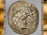 D'après un statère Namnètes, capitale Condenvincum-Nantes, vers 80-50 avjc, La Tène, Gaule Celtique. (Marsailly/Blogostelle)
