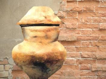 D'après une urne funéraire, terre cuite, âge du Fer. (Marsailly/Blogostelle)