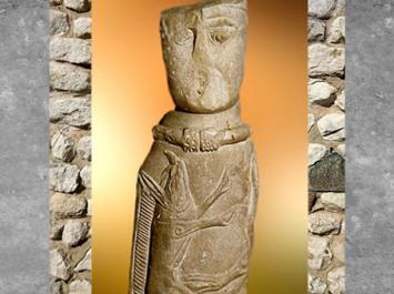 D'après le dieu gaulois d'Euffigneix et sanglier, Ier siècle apjc, Gaule Celtique. (Marsailly/Blogostelle)