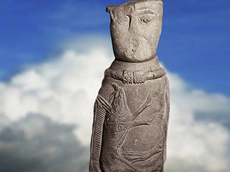 D'après le dieu gaulois d'Euffigneix, Ier avjc-IVe siècle apjc, Haute-Marne, Gaule Romaine. (Marsailly/Blogostelle)
