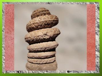 D'après le Serpent mithriaque aux Sept spires, 7 planètes et 7 jours, IIIe siècle apjc, Gaule Romaine, Bordeaux, France. (Marsailly/Blogostelle)
