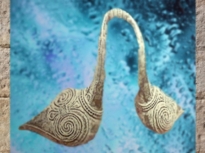 D'après une poignée de bassin à motif de spirales, Etrurie, vers VIIIe-IVe siècle avjc, art Étrusque. (Marsailly/Blogostelle)