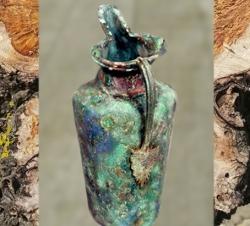 D'après une œnochoé étrusque en bronze, période de La Tène. (Marsailly/Blogostelle.)