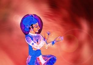 D'après la doctrine védique Prânâgnihotra, fondée sur la respiration, spiritualité,Inde ancienne. (Marsailly/Blogostelle)