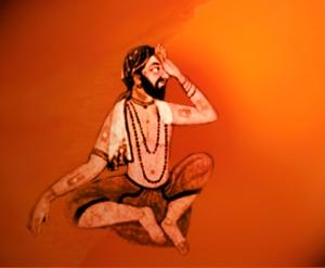 D'après le thème de la pratique de l'extase,spiritualité,Inde ancienne. (Marsailly/Blogostelle)