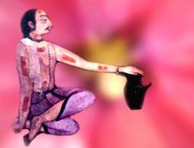 D'après le thème du rite et de l'ascèse. Le tapas permet la re-naissance spirituelle du pratiquant et l''ascèse ouvre à la connaissance ésotérique, c'est à dire à la révélation de ce qui est caché. (Illustration Marsailly/Blogostelle.)