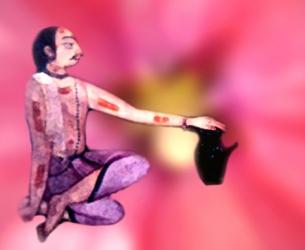 D'après le thème de la gnose, la recherche de la Connaissance, spiritualité,Inde ancienne. (Marsailly/Blogostelle)