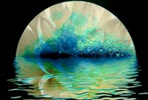 D'après le thème de la Création de l'Univers, période védique, Inde ancienne. (Marsailly/Blogostelle)