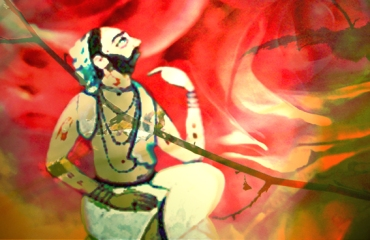 D'après le thème de l'ascèse : de la méditation à l'illumination, les rishis,Inde ancienne. (Marsailly/Blogostelle)