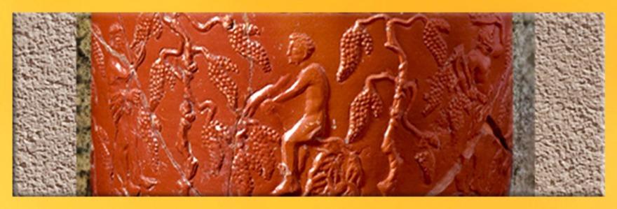 D'après une céramique sigillée, ouverture gaule romaine. (Marsailly/Blogostelle)
