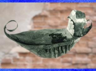 D'après un précieux navire miniature en tôle d'argent, IIIe siècle apjc, Gaule Romaine, France. (Marsailly/Blogostelle)