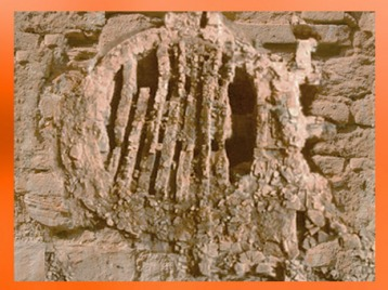 D'après les vestiges d'un four pour la cuisson en série, IIe siècle apjc, Sallèles, France, Gaule Romaine. (Marsailly/Blogostelle)