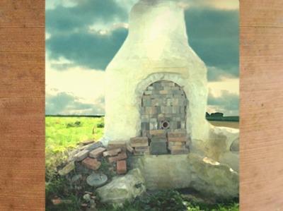 D'après le four à céramique de Barzan, Charente Maritime, Gaule Romaine, France. (Marsailly/Blogostelle)