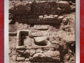 D'après la fontaine de l'antique cité d'Uzès, Ier siècle avjc, Gaule Romaine, Gard, France. (Marsailly/Blogostelle)