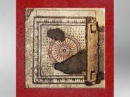 D'après la mosaïque d'Uzès, petite roue, Ier siècle avjc, Gard, Gaule Romaine. (Marsailly/Blogostelle)