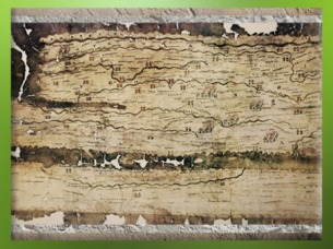 D'après la Table de Peutinger, copie médiévale d'une carte romaine (12-350 apjc), la Gaule. (Marsailly/Blogostelle)