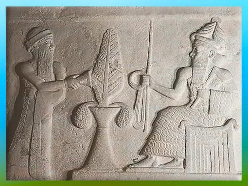 D'après Ur-Nammu, sommaire Mésopotamie, histoire de l'Art. (Marsailly/Blogostelle)