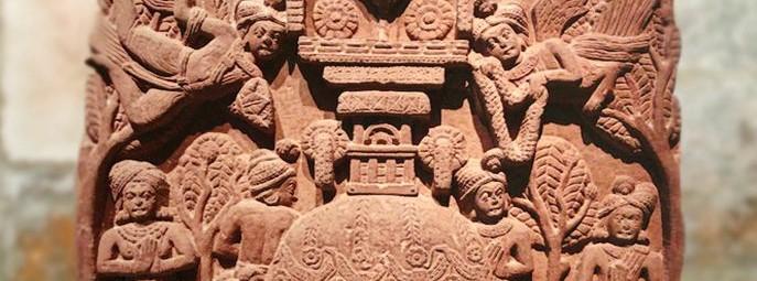 Arts de l'Inde, l'art des stûpas à Sânchî et àBhârhut