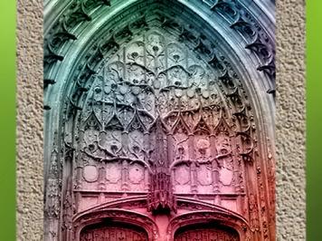 D'après l'Arbre de Jessé, cathédrale de Beauvais, XIIIe siècle, France, art médiéval. (Marsailly/Blogostelle)