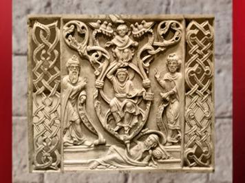 D'après l'Arbre de Jessé, ivoire de Bamberg, vers 1200 apjc. (Marsailly/Blogostelle)