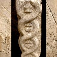 D'après une image sculptée de la kundalini, Karnakata, Inde du Sud. (Marsailly/Blogostelle)