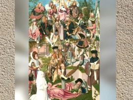 D'après l'Arbre de Jessé, Gérard de Saint-Jean, peintre néerlandais, XVe siècle. (Marsailly/Blogostelle)