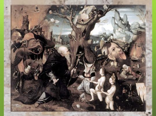 D'après L'Ermite Antonius, Jérôme Bosch, début XVIe siècle. (Marsailly/Blogostelle)