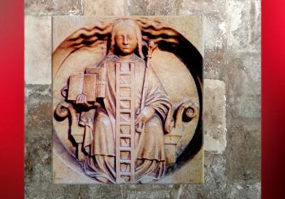 D'après le médaillon à l'échelle, symbole de la Connaissance, cathédrale de Chartres, France. (Marsailly/Blogostelle)