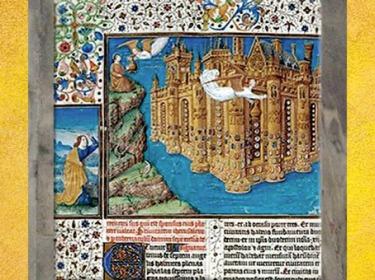 D'après La Jérusalem Céleste, manuscrit de l'Apocalypse, Jean Colombe, XVe siècle. (Marsailly/Blogostelle)