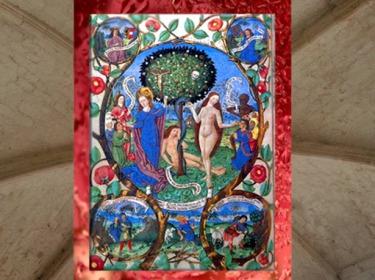D'après le thème Arbre de Vie-Arbre de mort, Berthold Furtmeyr, XVe siècle, art allemand médiéval. (Marsailly/Blogostelle)