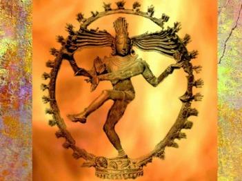 D'après le dieu Shiva (ou Çiva) dans sa Roue de Feu comparable à un Arbre de Feu... (Marsailly/Bogostelle)