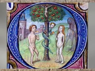 D'après le thème de l'arbre-croix, Livre d'Heures de Leonor de la Vega, XVe siècle. (Marsailly/Blogostelle)