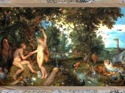 D'après Le Jardin d'Éden et la chute de l'Humanité, Pierre Paul Rubens et Jan Brueghel l'Ancien, début XVIIe. (Marsailly/Blogostelle)