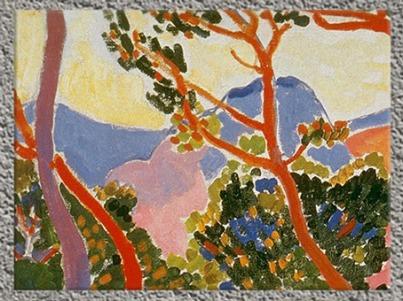 D'après Les Arbres, André Derain, 1906. (Marsailly/Blogostelle)