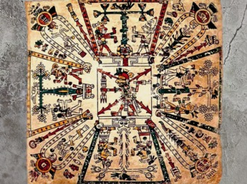 D'après une image de l'Arbre Cosmique dans la culture aztèque. (Marsailly/Blogostelle)