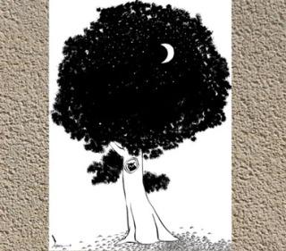 L'Arbre vu parJean Dobritz, courtoisiede l'artiste Jean Dobritz, pour Blogostelle.