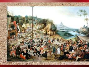 D'après l'Arbre de mai, Brueghel dit le Jeune, XVIIe siècle. (Marsailly/Blogostelle)