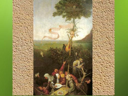D'après l'Arbre de Mai, La Nef des Fous, Jérôme Bosch, XVe-début XVIe siècle. (Marsailly/Blogostelle)