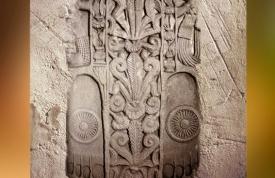 D'après les empreintes du Buddha, Ier siècle avjc-Ier siècle apjc, stûpa n° 1, Sânchî, Madhya Pradesh, Inde du Nord. (Marsailly/Blogostelle)
