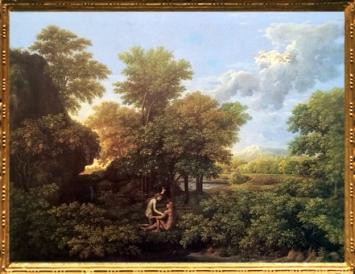 D'après Le Printemps ou Le Paradis Terrestre, Les Quatre Saisons, Nicolas Poussin, 1660-1664, XVIIe siècle, classicisme, France. (Marsailly/Blogostelle)