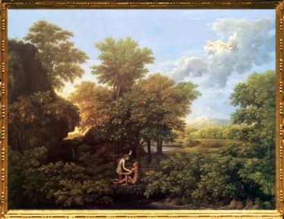 D'après Le Printemps ou Le Paradis Terrestre, Nicolas Poussin, Nicolas Poussin, Les Quatre Saisons, 1660-1664. (Marsailly/Blogostelle)