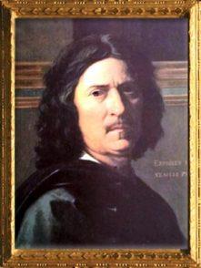D'après Nicolas Poussin, portrait de l'artiste, pour Paul Fréart de Chantelou, 1650, XVIIe siècle, classicisme, France. (Marsailly/Blogostelle)