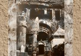 D'après la façade de Karlî et sa colonne, fin Ier siècle apjc- IIe siècle apjc, Mahârâsthra, Inde du Sud. (Marsailly/Blogostelle)