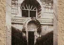 D'après l'entrée de la caverne de Nâsik, Ier siècle apjc, Mahârâsthra, Dekkan, Inde du Sud. (Marsailly/Blogostelle)
